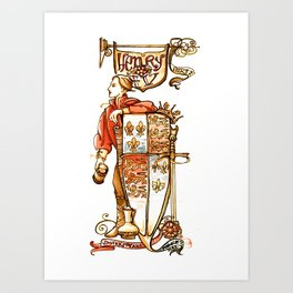 Prince Hal from Henry IV Art Print