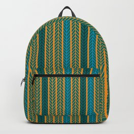 Stick to the rail. Backpack