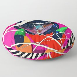 Cosmic Girl Floor Pillow