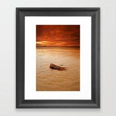 Veiw from Dunbar Beach Framed Art Print