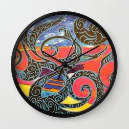 BARQUES ENLACEES Wall Clock