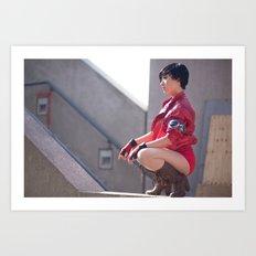 Stella Chuu as Kaneda from Akira Art Print