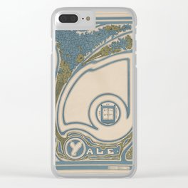 Yale Affiche Clear iPhone Case