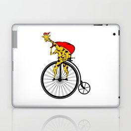 Giraffe Santa Chritmas Laptop & iPad Skin
