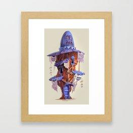 Rock House Framed Art Print