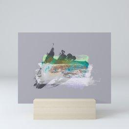 SELF-DETERMINED III Mini Art Print