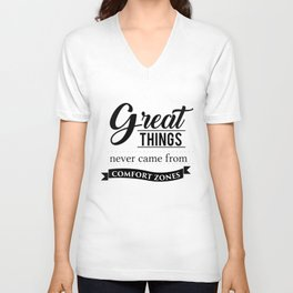 Great Things Unisex V-Neck