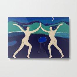 Mooklight Dancers Metal Print