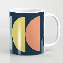 Abstract Flower Palettes Coffee Mug