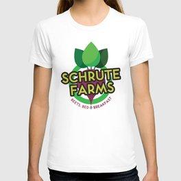 The Office - Schrute Farms Custom Logo T-shirt