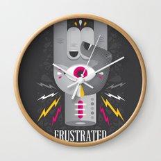 Frustrated Rocker Wall Clock
