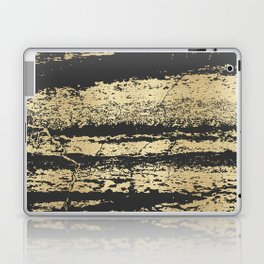Marble Black Gold - Save Me Laptop & iPad Skin
