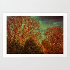 Trees, Trees, Trees Art Print