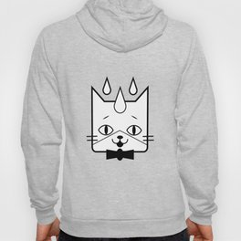 head of a cat vector icon Hoody