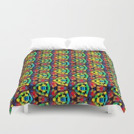 Administrator of Merchants Abstract Pattern Duvet Cover