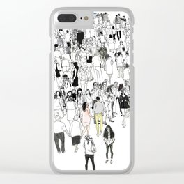 All We Have Is Now Clear iPhone Case