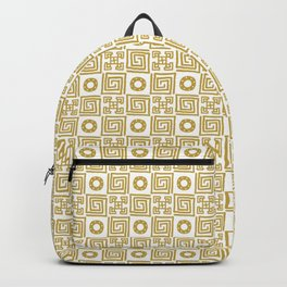 Lines and Shapes - Sunflower Backpack