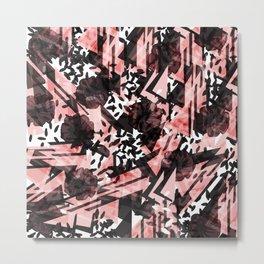 Abstract Swoosh Metal Print