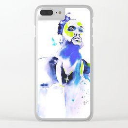 The Weeknd Inspired Clear iPhone Case