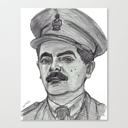 Blackadder Goes Forth Canvas Print
