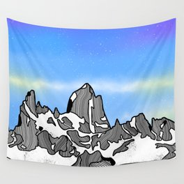 Monte Fitz Roy Wall Tapestry