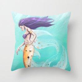 Amatheia the Vain - Clothed Throw Pillow