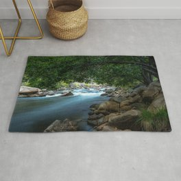 Photo California USA Kern River Nature stone Rivers river Stones Rug