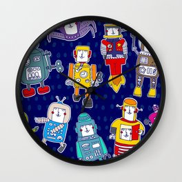 Mr Robot Wall Clock