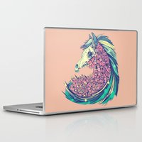 horse Laptop & iPad Skins featuring Beautiful Horse by Diego Verhagen