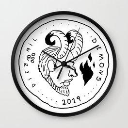 Serie: Moneda Corriente Wall Clock