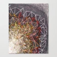 R/Y Burst Canvas Print