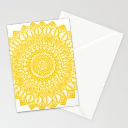 Sunshine-Yellow Stationery Cards