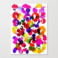 Sunshine Spot Red Canvas Print