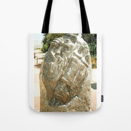 Father by Shimon Drory Tote Bag