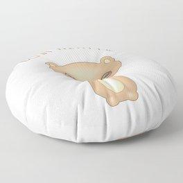 Bear With Me - Creepy Cute Teddy Floor Pillow