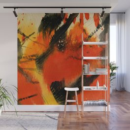 Art Abstraction 3 by Kathy Morton Stanion Wall Mural