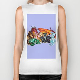 wings of fire Biker Tank