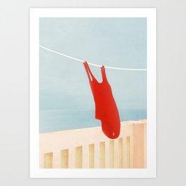 Bathing Suit Art Print