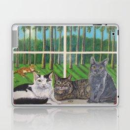 Window Cats Laptop & iPad Skin