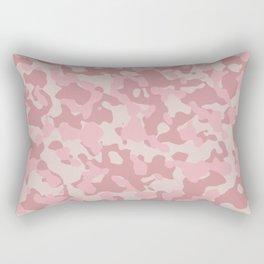 Camouflage Blush Rectangular Pillow