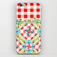 Cottage Chic Gingham II iPhone & iPod Skin