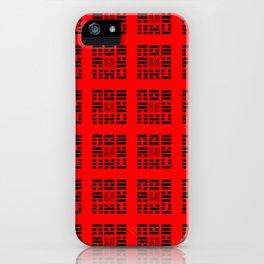 I Ching Yi jing – Symbols of Bagua 4 iPhone Case