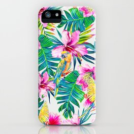 Parrot Beach iPhone Case