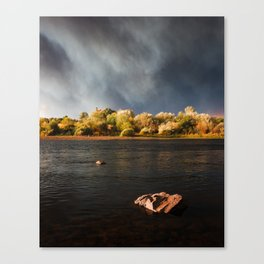 Wildfire Sunset Canvas Print
