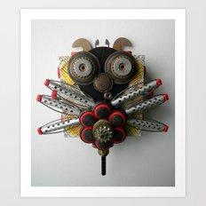 Oo La La Bug Art Print