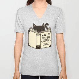 How To Destroy Your Enemies With Kindness Unisex V-Neck