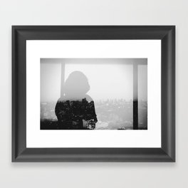 Midnight Passages.  Framed Art Print
