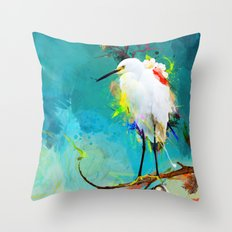 Evening Sun Throw Pillow