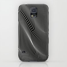 Minimal curves black Galaxy S5 Slim Case