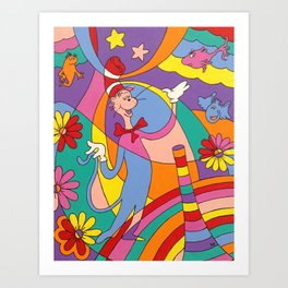 Oh to Dr. Seuss Art Print